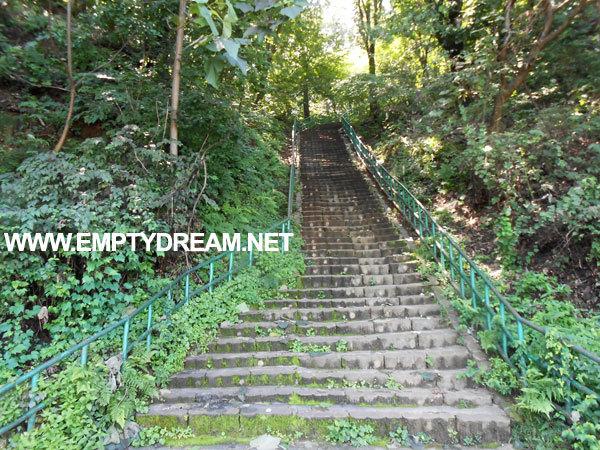 국토종주 자전거길: 탄금대 계단