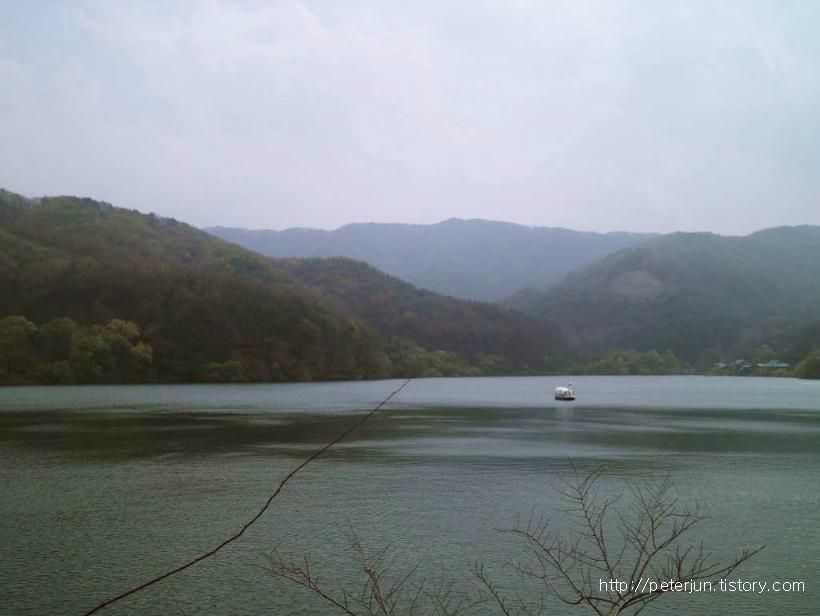 청룡저수지 풍경