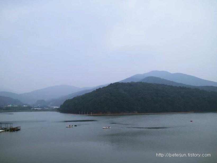의왕 백운호수 풍경
