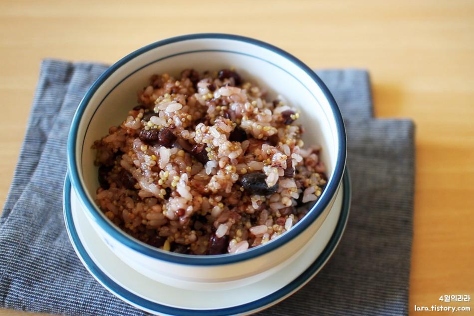 오곡밥만드는법_오곡밥찌는법